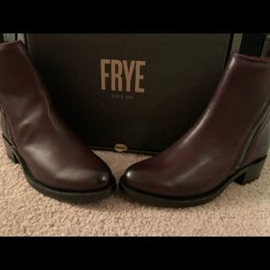 Brand New Demi Leather Frye Boots Size 6